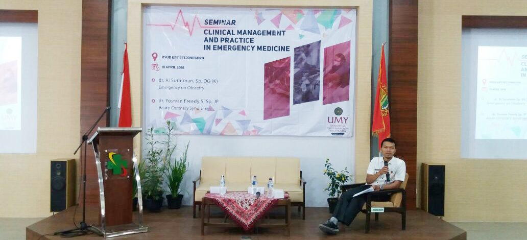 Seminar Clinical Management and Practice In Emergency Medicine