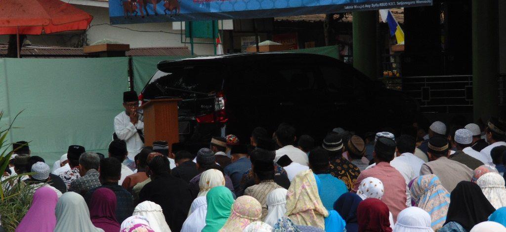 Indahnya Idul Adha 1439 H di RSUD KRT. Setjonegoro