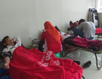 Kegiatan Donor Darah Rutin