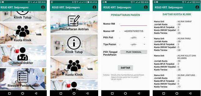 Pendaftaran Antrian Menggunakan Applikasi Android