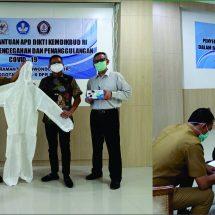 Penyerahan Bantuan APD DIKTI KEMENDIKBUD RI Dalam Rangka Pencegahan dan Penanggulangan COVID-19