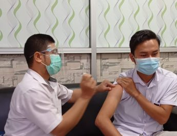 Program PPI Kesehatan Karyawan RSUD KRT. Setjonegoro Vaksinasi Hepatitis B Periode 4 Tahun 2020