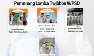 Juara Foto Faforit dalam Lomba Twibbon WPSD