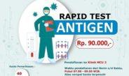 Update Pelayanan Pemeriksaan Rapid Test Antigen di RSUD KRT Setjonegoro Wonosobo